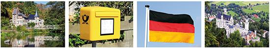 postkarten deutschland
