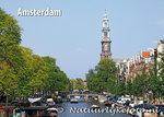 ansichtkaart Amsterdam Prinsengracht Westerkerk - amsterdam postcards- postkarte amsterdam