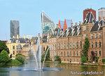 Ansichtkaart Den Haag Hofvijver en het Torentje - postcard The Hague - Postkarte 's-Gravenhage
