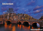 AnsichtkaartGrachten van Amsterdam - Amsterdam postcard Canals - Amsterdam postkarte Kanäle - UNESCO WHS