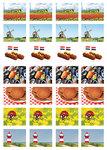 Nederland stickervel voor Postcrossing