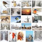 Kaartenset winter - Postcard set winter - Postkarten Set Winter