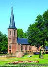 ansichtkaart Roomskatholieke kapel - Haarzuilens, postcardcastle de Haar, Postkarte Schloss de Haar