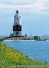 ansichtkaartvuurtoren Paard van Marken, postcard lighthouse Marken, postkarte leuchtturm Marken