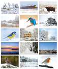 Kaartenset winter - Winter postcard set - Winter Postkarten Set