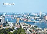 AnsichtkaartRotterdam skyline, postcard Rotterdam skyline, Postkarte Rotterdam skyline