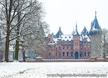 Ansichtkaart kasteel de Haar in Haarzuilens