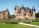 ansichtkaart kasteel de Haar Utrecht - Haarzuilens, postcardcastle de Haar, Postkarte Schloss de Haar
