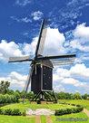 ansichtkaart molen 't Vliegend Hert in Brielle, mill postcard, Mühle Postkarte