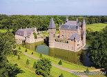 ansichtkaart kasteel Heeswijk, postcardcastle Heeswijk, Postkarte Schloss Heeswijk