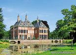 ansichtkaart kasteel Duivenvoorde, postcardcastle Duivenvoorde, Postkarte Schloss Duivenvoorde