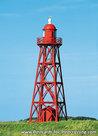 ansichtkaartvuurtoren Den Oever, postcard lighthouse Den Oever, postkarte leuchtturm Den Oever