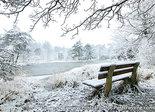 AnsichtkaartFreulevijver in winter - Bakkeveen