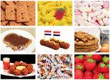Eten en snoep Kaarten set, food and candy postcard set, Essen und Süßigkeiten Postkarten Set