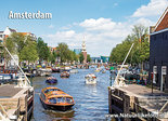 Ansichtkaart Montelbaanstoren in Amsterdam, Postkarte Montelbaanstoren in Amsterdam