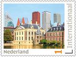 Postzegels 5 x Internationaal Den Haag