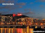 ansichtkaart Amsterdam Magere brug, Amsterdam postcardsSkinny bridge, Amsterdam PostkarteMagere Brücke