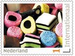 Postzegels voor Postcrossing - Engelse drop - Stamps for Postcrossing