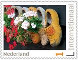 Klompen postzegels voor Postcrossing