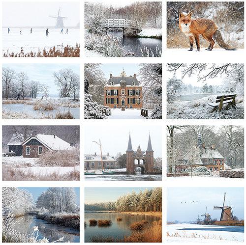 Postkarten Set winter
