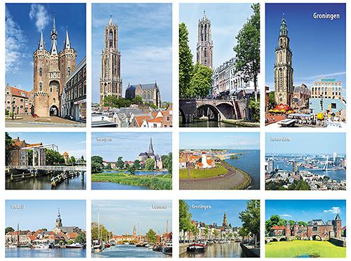 postkartenset Stadte