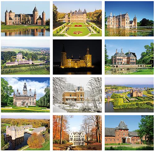 Schlösser und Burgen Postkarten Set
