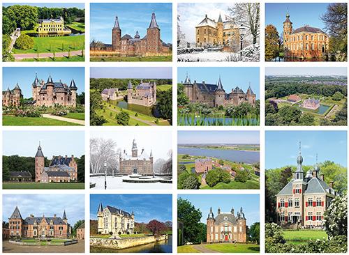 Postkarten SetSchlösser und Burgen