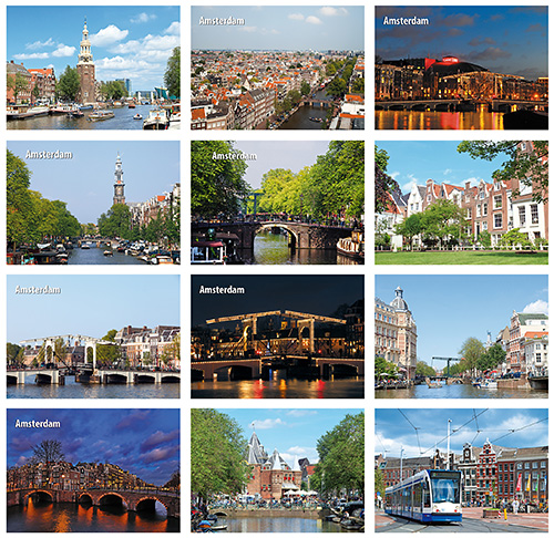 Postkarten Set Amsterdam
