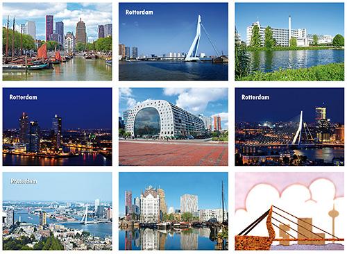 Postkarten Set Rotterdam