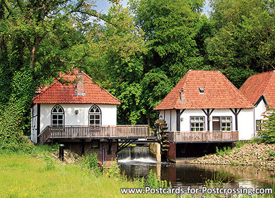 Ansichtkaart watermolenDen Helder in Winterswijk