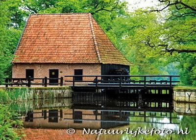 Postkarte Wassermühle Ambt-Delden (0115)