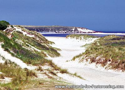 Ansichtkaart - Natuurgebied De Slufter - Texel