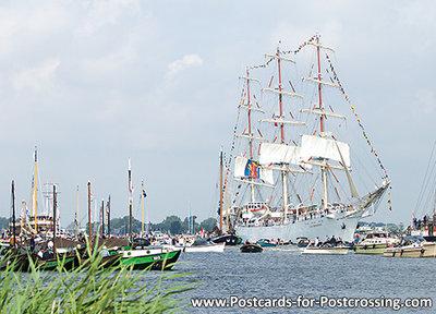Postkarte Sail Amsterdam - Dar Mlodziezy (0276)