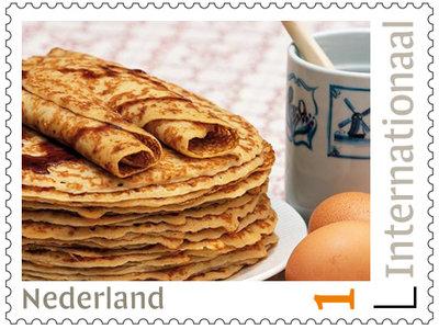 postzegels internationaal pannenkoeken
