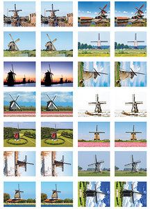 molen stickervel