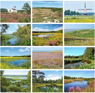 Postkaarten / ansichtkaarten set Nederland