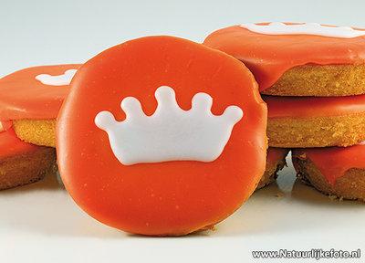 Ansichtkaart Oranje cakes