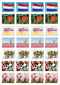 Stickervel voor Postcrossing