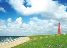 ansichtkaartvuurtoren Lange Jaap Den Helder - postcard lighthouse Lange Jaap - postkarte leuchtturm Lange Jaap