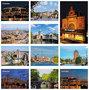 ansichtkaarten steden - postcard set 37 - Postkarten Set 37